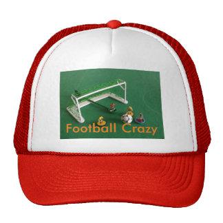 Gorra de béisbol loca del fútbol