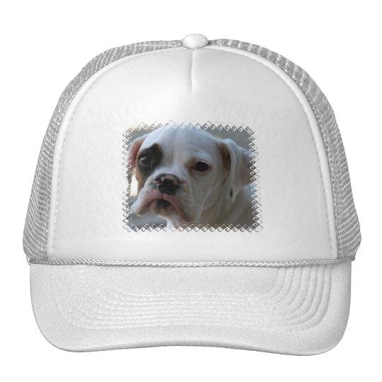 Gorra de béisbol observado negro del perro del box