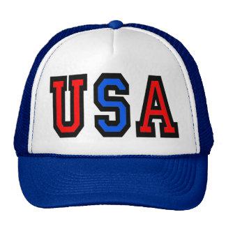 Gorra de béisbol patriótica de los E.E.U.U.