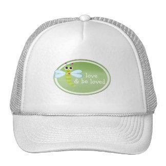 Gorra de béisbol personalizado de la libélula