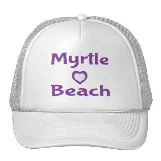 Gorra de béisbol púrpura de Myrtle Beach Carolina