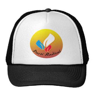 Gorra de béisbol radical del logotipo de Parti