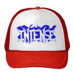Gorra de béisbol roja/blanca con el logotipo inten