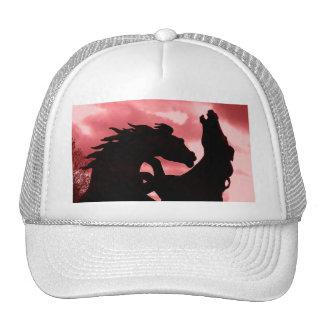 Gorra de béisbol silueteado del diseño del sementa