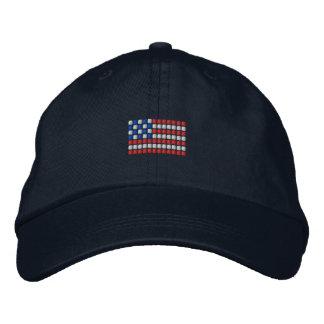 Gorra de béisbol única de la bandera americana -