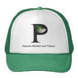 Gorra de béisbol verde de PMT