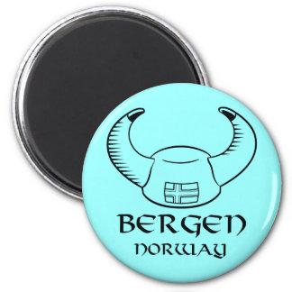 Gorra de Bergen Noruega Viking Imán De Frigorifico