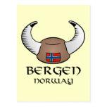 Gorra de Bergen Noruega Viking Postal