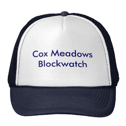 Gorra de Blockwatch de los prados de $cox