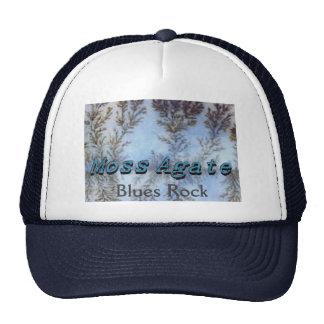 Gorra de BluesRock de la ágata de musgo