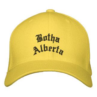 Gorra de Botha Alberta Gorra Bordada
