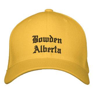 Gorra de Bowden Alberta Canadá Gorro Bordado