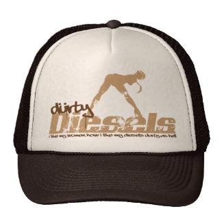 Gorra de Brown de los dieseles de Durty