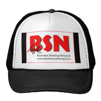 Gorra de BSN, frente del logotipo