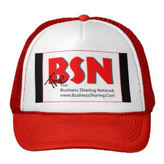 Gorra de BSN, logotipo en frente