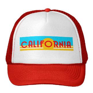 Gorra de California de los años 80 del vintage