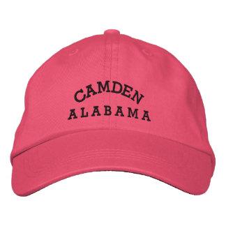 Gorra de Camden, Alabama Gorra De Béisbol Bordada