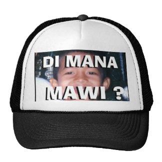 Gorra de campaña de Di Mana Mawi