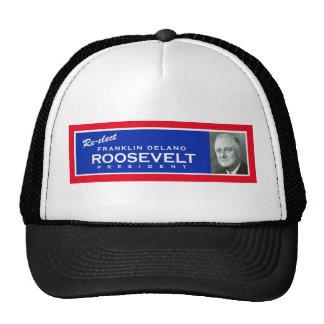 Gorra de campaña del FDR