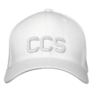 Gorra de CCS Gorra De Béisbol Bordada
