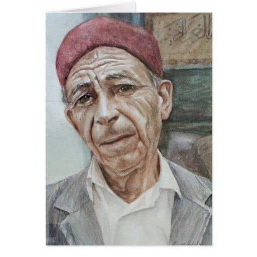 Gorra de Chéchia del hombre de Medina Felicitacion