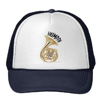 Gorra de cobre amarillo del camionero de Humppa