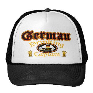 Gorra de consumición alemán de Cptn