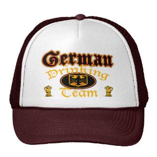 Gorra de consumición alemán del equipo