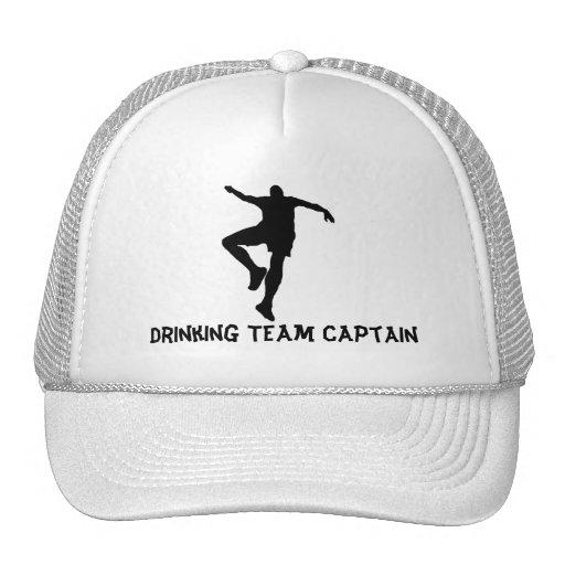 Gorra de consumición del capitán del equipo