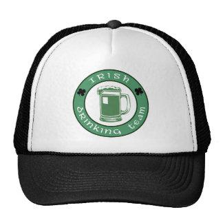 Gorra de consumición irlandés del equipo