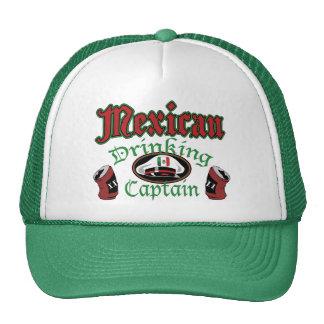 Gorra de consumición mexicano de Cptn