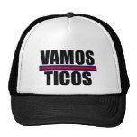 Gorra de Costa Rica del mundial de Vamos Ticos