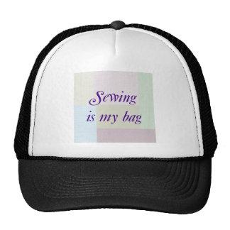 Gorra de costura
