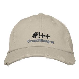 Gorra de CrunchBang Gorros Bordados