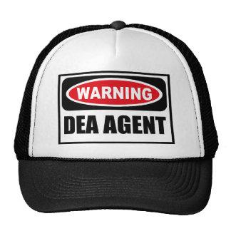 Gorra de cuidado del AGENTE de DEA