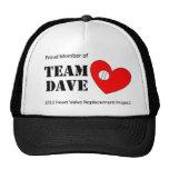 Gorra de Dave del equipo