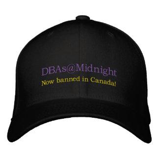 ¡gorra de DBAs@Midnight! Gorro Bordado