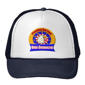 Gorra de Demócrata del miedo de la libertad no