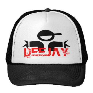 Gorra de DJ - casquillo del fiesta del disc jockey