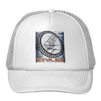 Gorra de DJ STYLEZ (blanco)