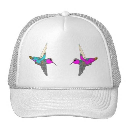 Gorra de dos colibríes