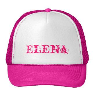 Gorra de Elena con nombre personalizado