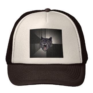 Gorra de encargo del lobo de la locura