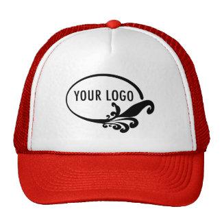 Gorra de encargo del logotipo del negocio