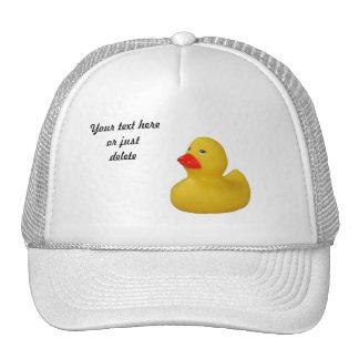 Gorra de encargo del pato del amarillo lindo de go