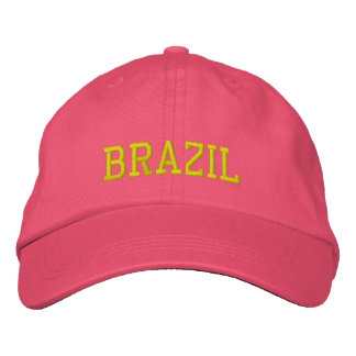 Gorra de encargo femenino del Brasil Gorra De Béisbol