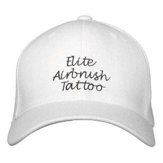 Gorra de encargo puntada negra gorra de beisbol