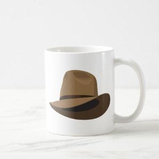 Gorra de Fedora arbusto Tazas De Café