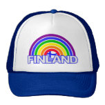 Gorra de Finlandia del arco iris