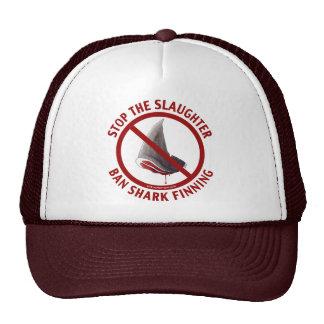 Gorra de Finning del tiburón de la prohibición
